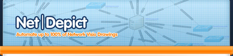 NetDepict - 100% Automated Visio Drawings of your IT & Network Infrastructure